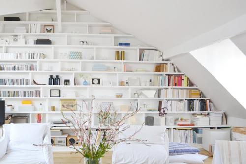 Libreria-a-medida-salon-vivienda-francesa