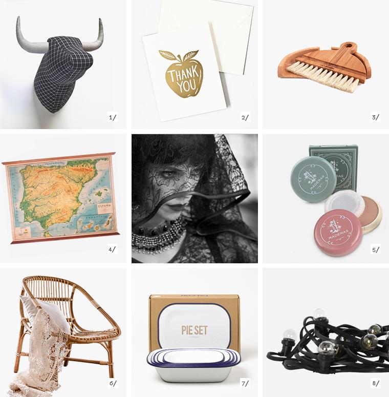 ocho objetos a la venta online forman el escenario de la película española Blancanieves