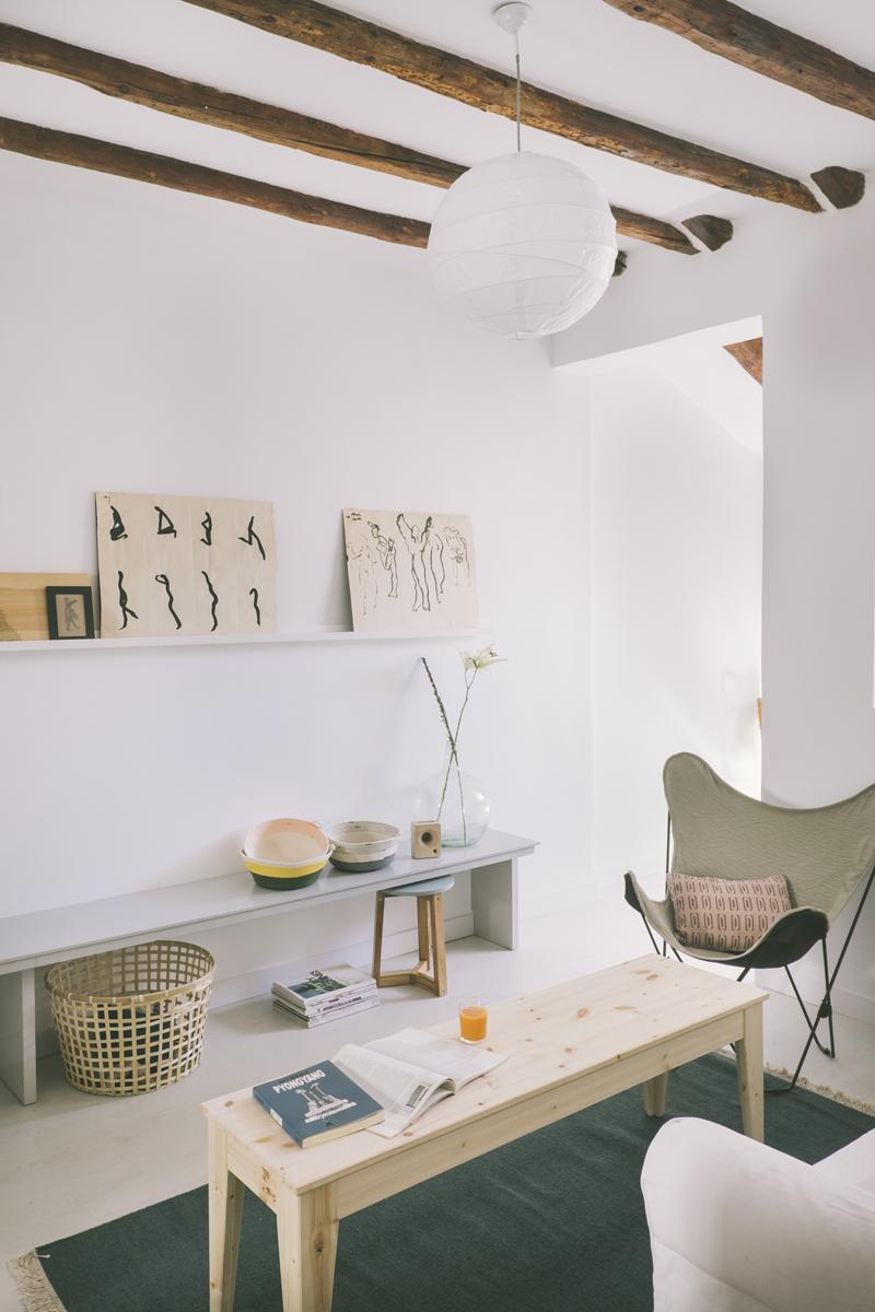 Vivienda buhardilla en Madrid, barrio Malasaña, un proyecto de Nimú estudio de diseño 3