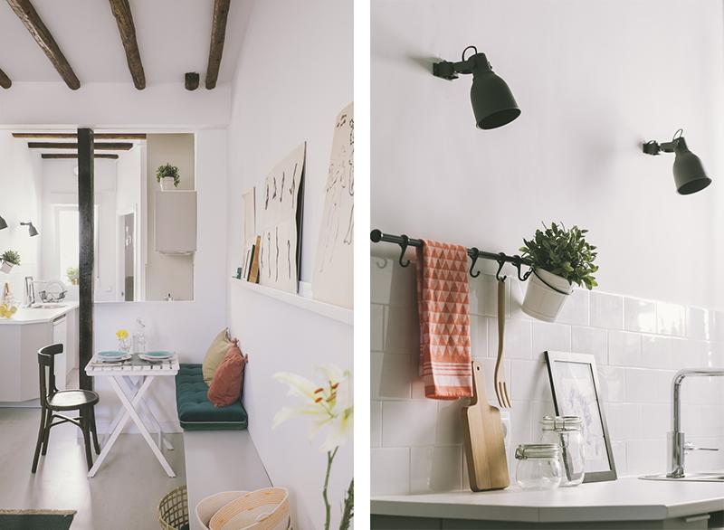 Vivienda buhardilla en Madrid, barrio Malasaña, un proyecto de Nimú estudio de diseño 4