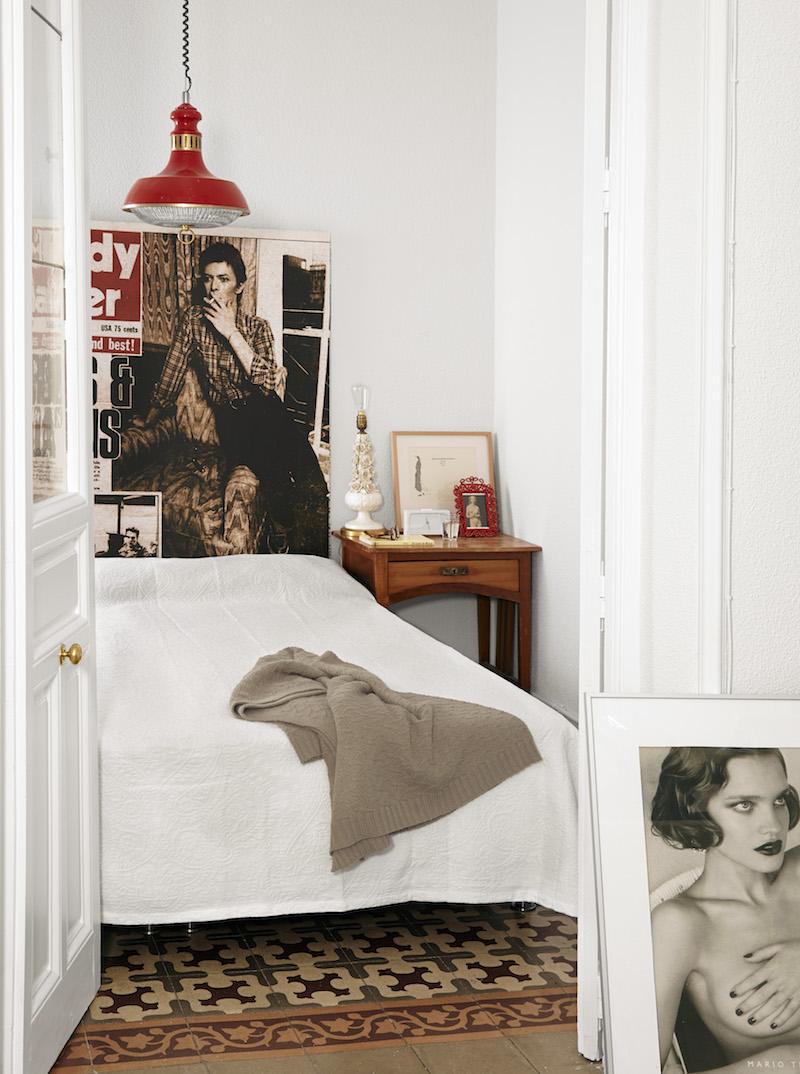 La vivienda de Mari Quinonero, artista que crea obras a partir de la tenica del collage 1