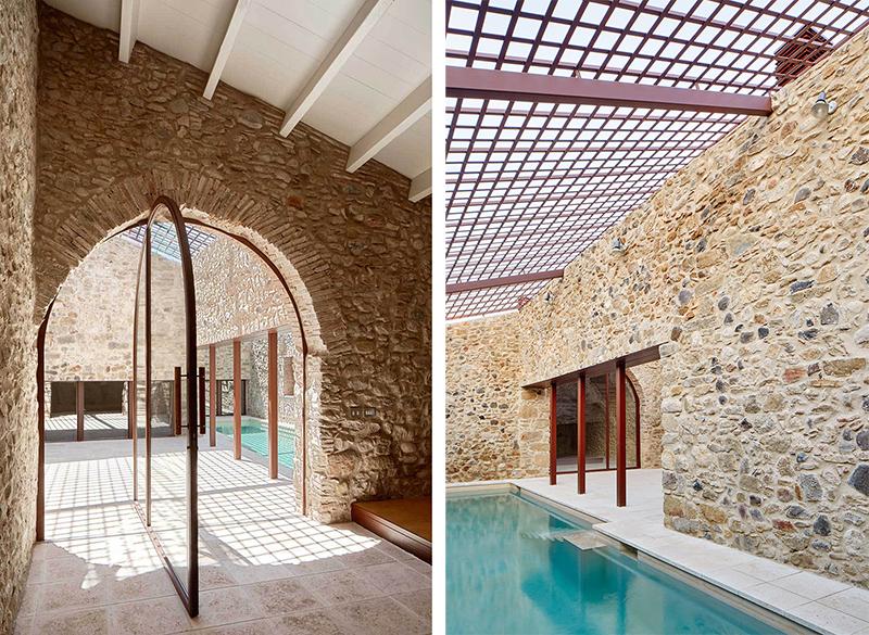 Rehabilitaciona antigua masia en el Emporda Girona por Arquitectura-G 3