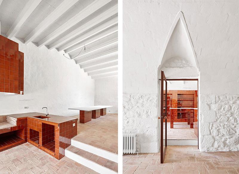 Rehabilitaciona antigua masia en el Emporda Girona por Arquitectura-G 6