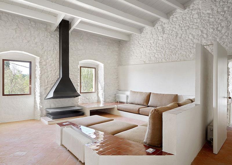 Rehabilitaciona antigua masia en el Emporda Girona por Arquitectura-G 8