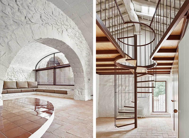 Rehabilitaciona antigua masia en el Emporda Girona por Arquitectura-G 9