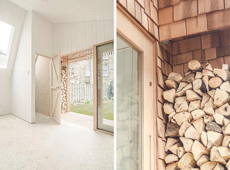 El estudio de un escritor, cabaña de madera en el jardin refugio inspiracion 3