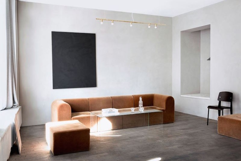 Kinfolk Gallery minimal space located in Copenhagen designed by Norm Architects