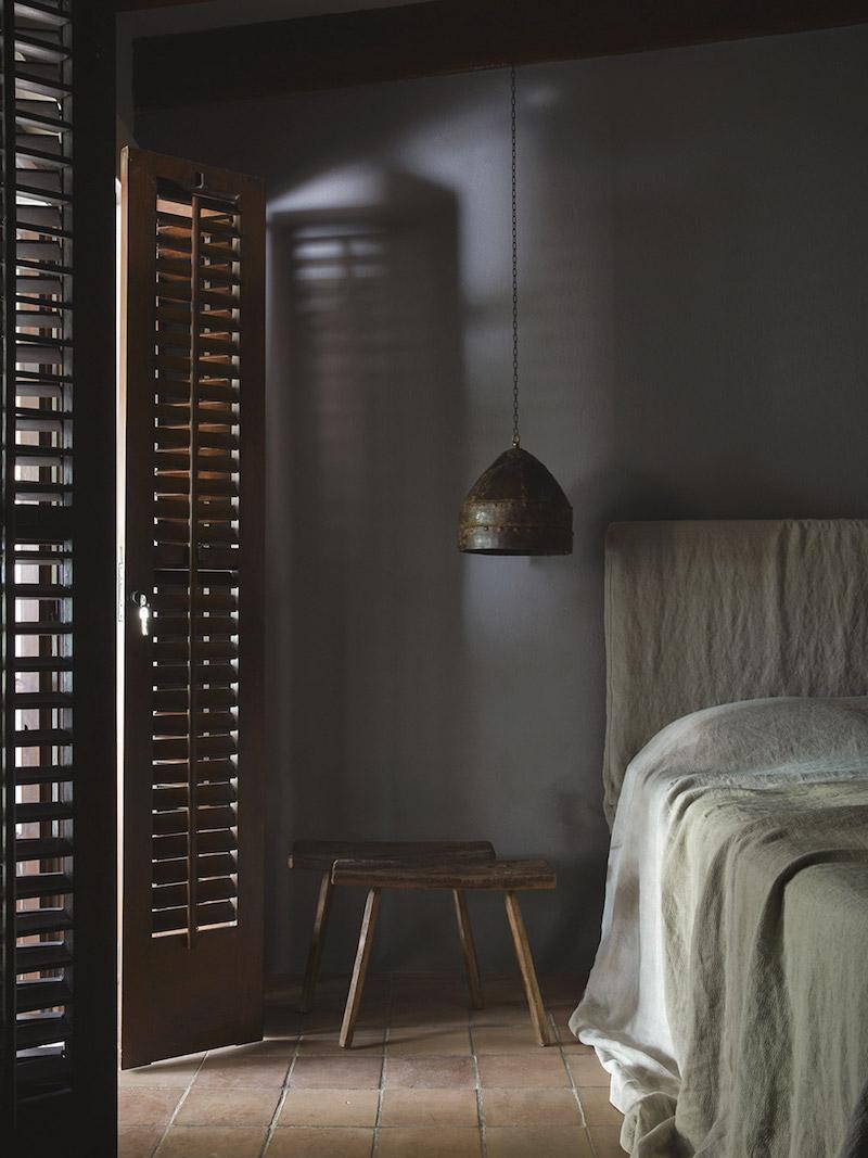 La Granja hotel en Ibiza FarmHouse decoracion sencilla casi austera para un hotel de lujo 1