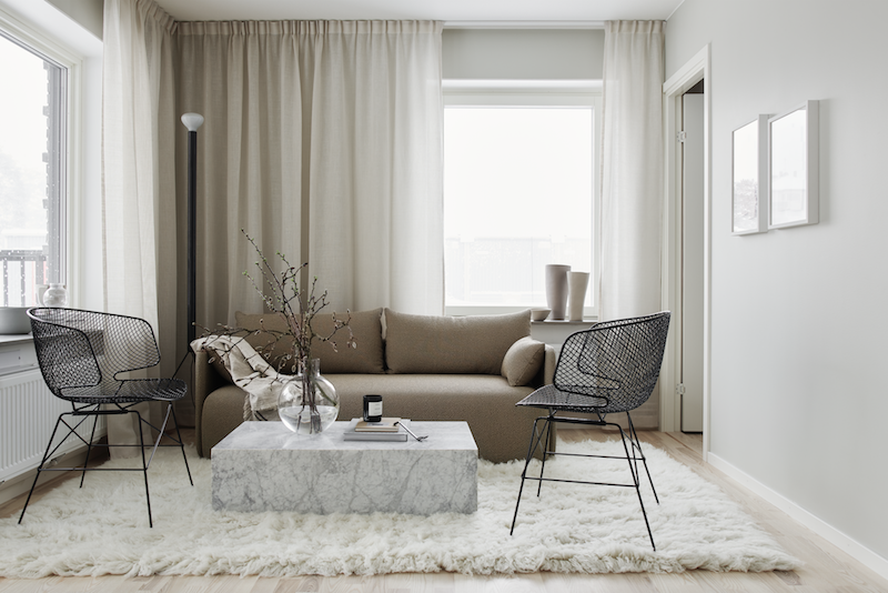 claves para un interior minimalista pero calido estilismo lotta Agaton salon decoracion