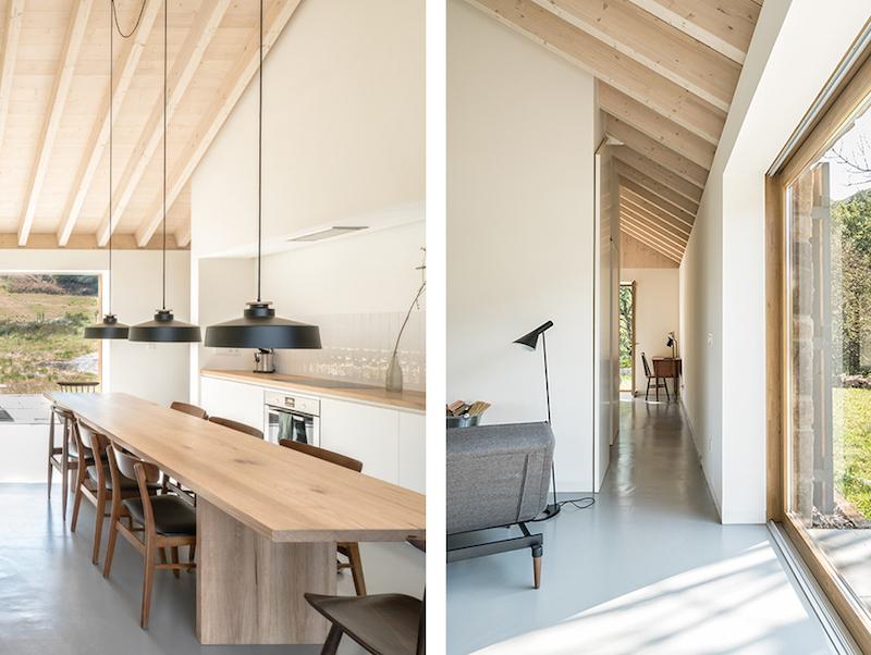 vivienda en el campo para desconexion arquitectura madera natural 2