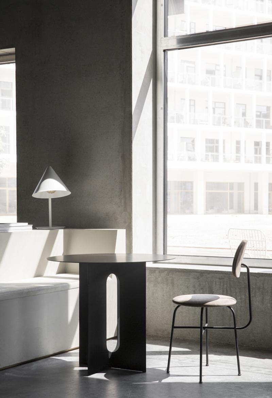 Menu Space cafe,un cafeteria anexa a un espacio de oficinas en Copenhagen por Danielle Siggerud 1