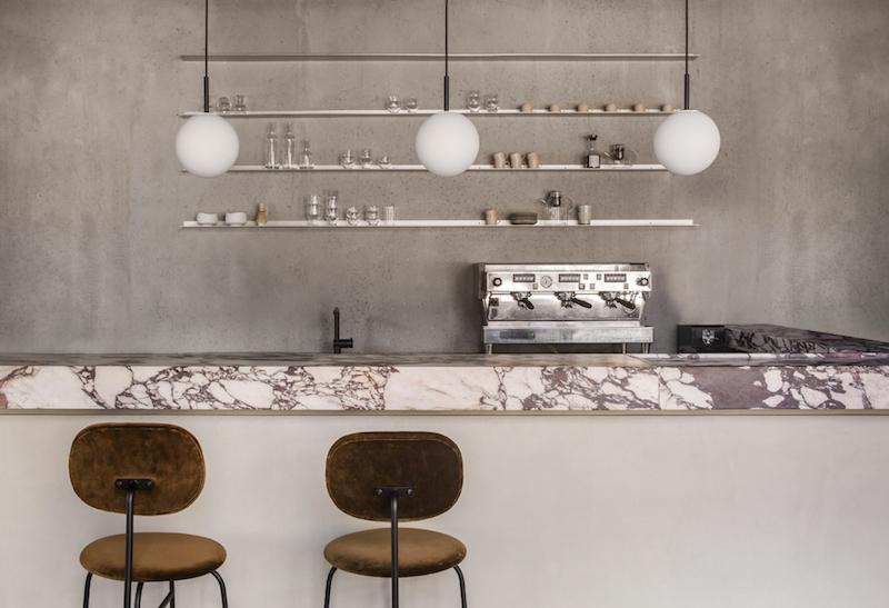 Menu Space cafe,un cafeteria anexa a un espacio de oficinas en Copenhagen por Danielle Siggerud 6