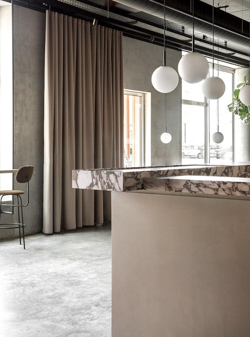 Menu Space cafe,un cafeteria anexa a un espacio de oficinas en Copenhagen por Danielle Siggerud 7