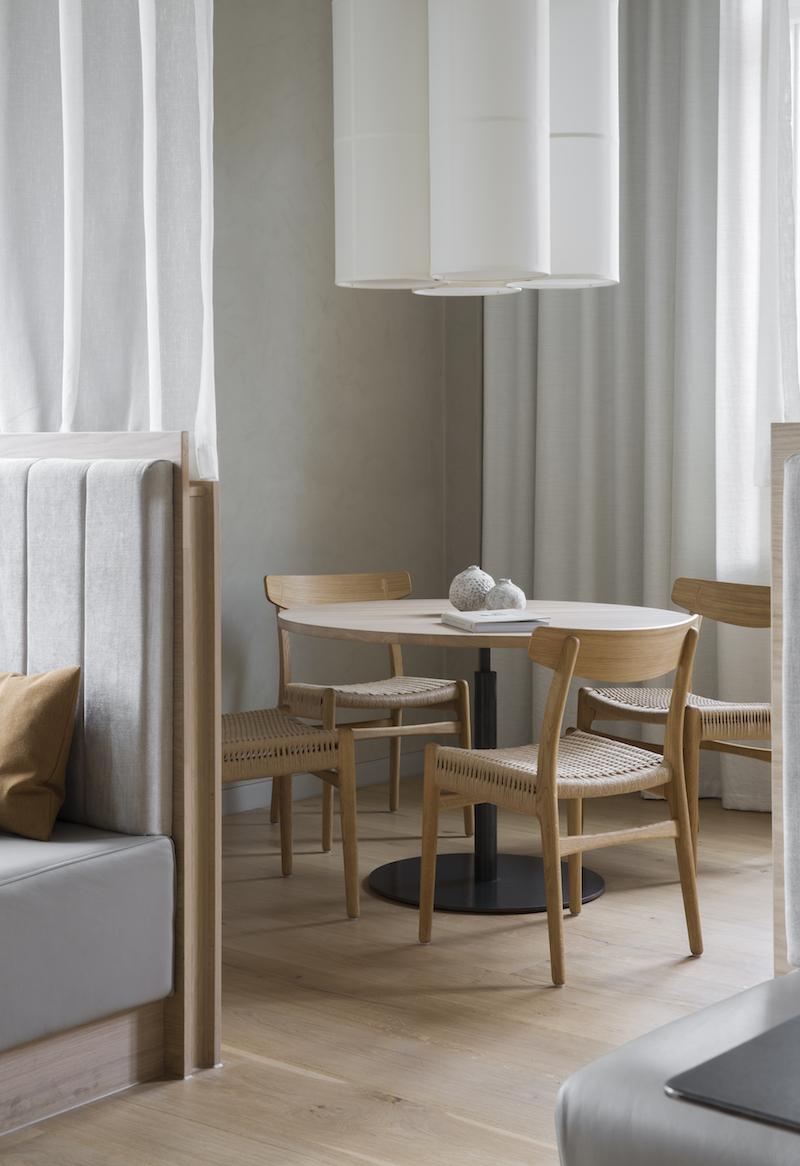 mobiliari inspiracion para salon un proyecto de Norm Architects 4